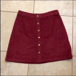 *NEW* Tobi Corduroy Skirt